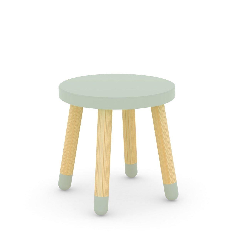 Flexa kinderhocker play mit beinen aus eschenholz in gr n 30cm zimmerzwerge - Flexa kinderstuhl ...