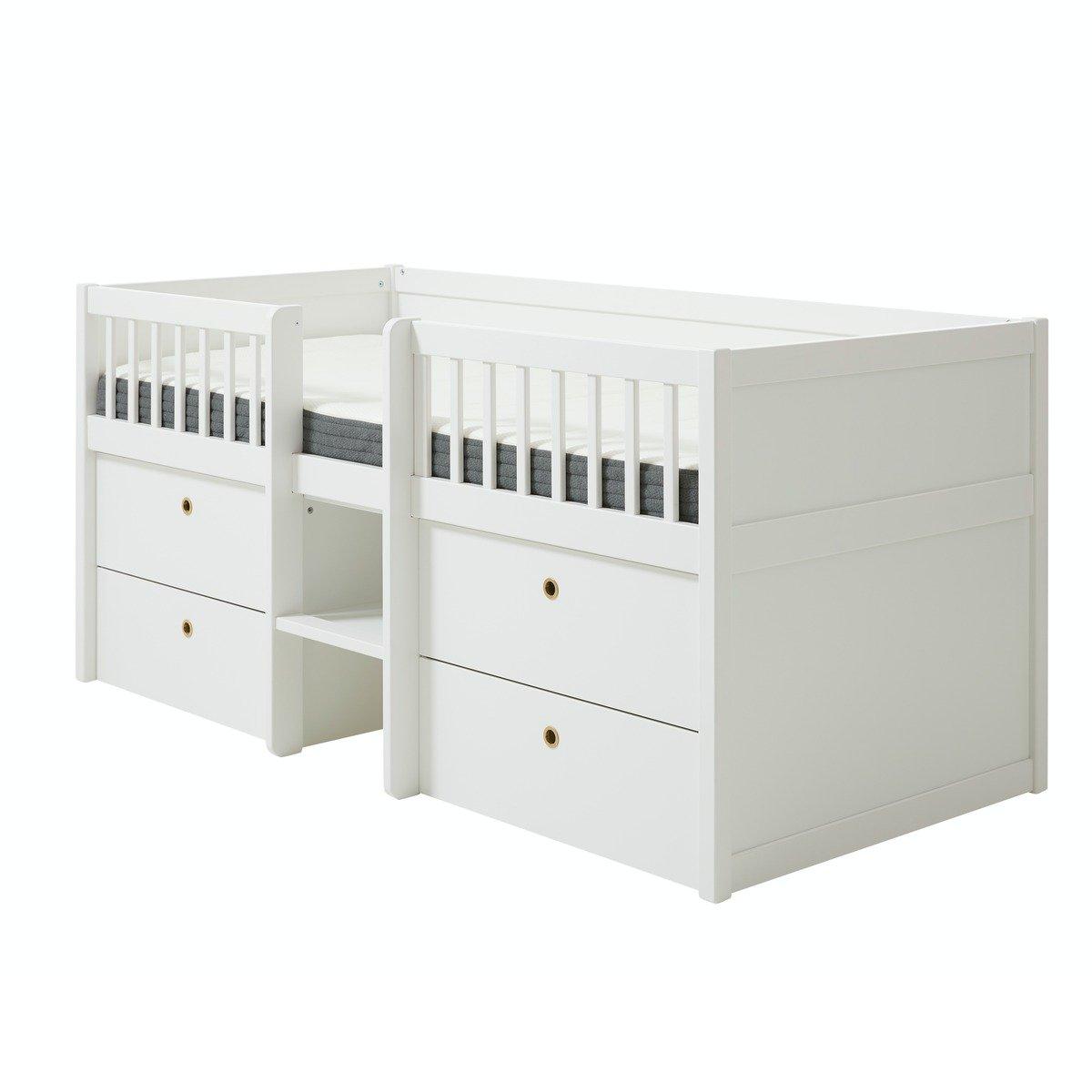 Flexa COTTAGE Einzelbett – Hausbett (90×200 cm) aus Kieferholz in natur Kinderbetten