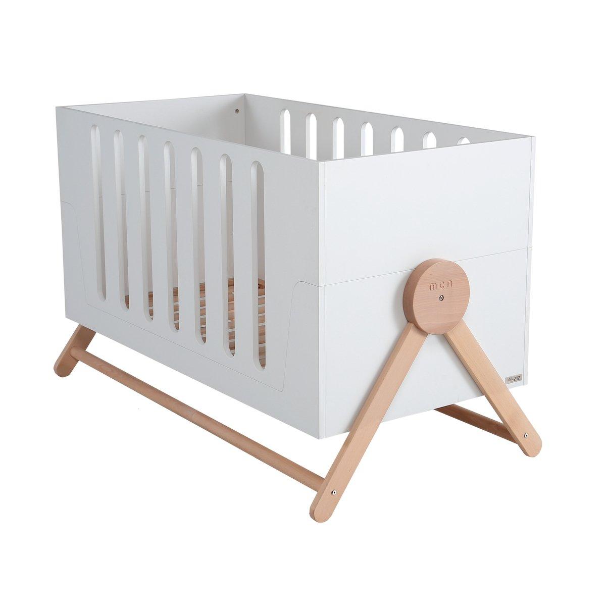 Woodly Classic Flurbett – Kinderbett – Shabby White Kinderbetten