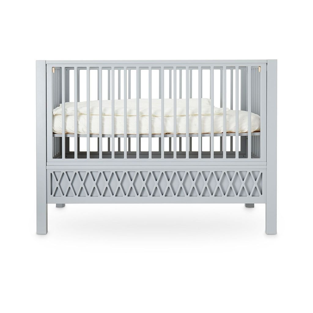 """CamCam Babybett """"Harlequin"""" (60×120) höhenverstellbar in beige Kinderbetten"""