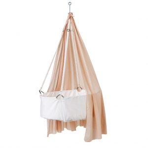 Leander Himmel für Wiege (Höhe: 170 cm) in rosa / Soft Pink Babywiege