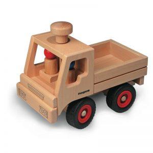 FAGUS Unimog Holzfahrzeug   Modell: 10.02 (ab 3 Jahren) Holzspielzeug