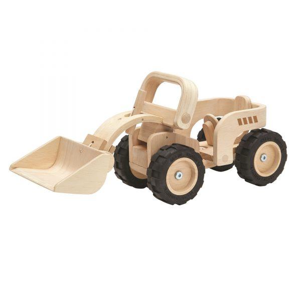 """Plantoys Radlader """"Bulldozer"""" Special Edition aus Holz (ab 3 Jahren) Holzspielzeug"""
