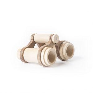 Fanny & Alexander Fernglas – Holzspielzeug (ab 3 Jahren), handmade Holzspielzeug