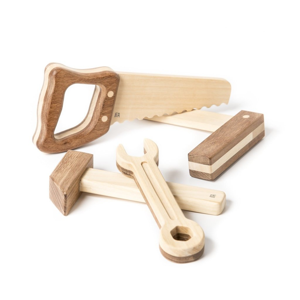 Fanny & Alexander Holzkamera – Holzspielzeug (ab 3 Jahren), handmade, in olivgrün Holzspielzeug