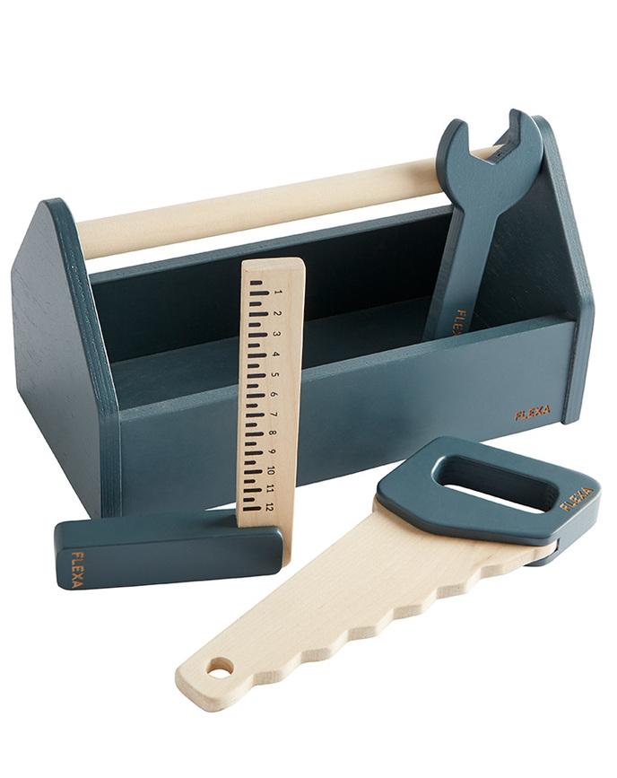 Hape Mixer & Rührer 4-teilig aus Holz Holzspielzeug
