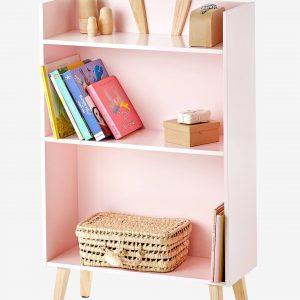 """Kinderzimmer-Bücherregal """"Spring"""" rosa von vertbaudet Bücherregal Kinderzimmer"""