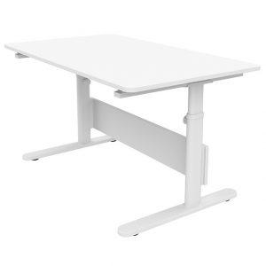 FLEXA Schreibtisch EVO (56/79x120x70) mit einteiliger Platte in weiß Kinderschreibtische
