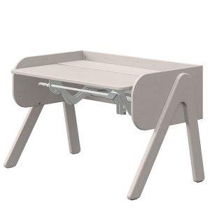 FLEXA Schreibtisch WOODY (50/83x120x70) höhenverstellbar in grau Kinderschreibtische
