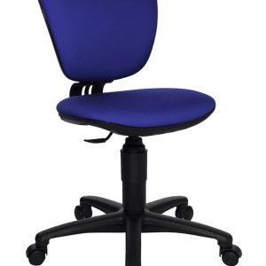 Topstar Drehstuhl HIGH KID in blau Kinder Schreibtischstühle