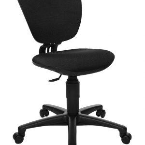 Topstar Drehstuhl HIGH KID in schwarz Kinder Schreibtischstühle