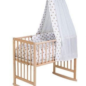 Schardt Babywiege VARIO BIG STARS 5in1 Buche in natur/beige Babywiege