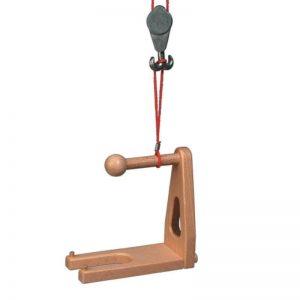 FAGUS Ladegabel für Hochkran und Mobilkran | Modell: 30.38 (ab 3 Jahren) Holzspielzeug