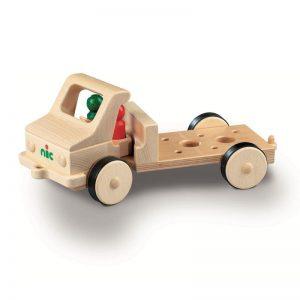 Nic Creamobil Grundmodell lang Holzfahrzeug   Modell: 1815 (ab 18 Monate) Holzspielzeug