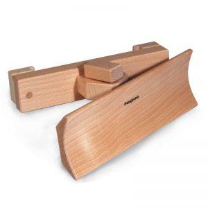 FAGUS Schneepflug für Unimog Holzfahrzeug   Modell: 14.06 (ab 3 Jahren) Holzspielzeug