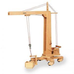 Fagus Hochkran aus Buchenholz   Modell: 10.40 (ab 3 Jahren) Holzspielzeug