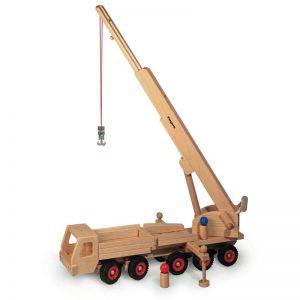 FAGUS Mobilkran aus Buchenholz   Modell: 10.32 (ab 3 Jahren) Holzspielzeug