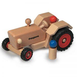 FAGUS Traktor Holzfahrzeug   Modell: 10.21 (ab 2 Jahren) Holzspielzeug