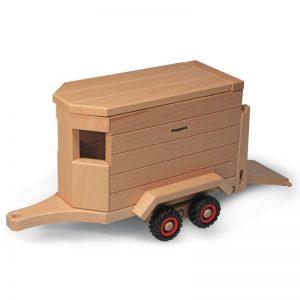 FAGUS Pferdeanhänger für Holzfahrzeug   Modell: 10.27 (ab 3 Jahren) Holzspielzeug