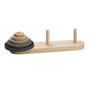 "Plantoys Steckspielzeug ""Lucas Turm"" aus Holz (ab 3 Jahren) Holzspielzeug"