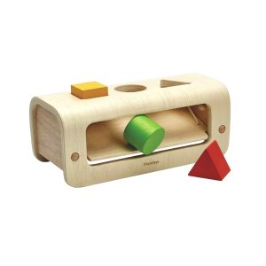 """Plantoys Steckspiel """"Formen Sortieren"""" (ab 1 Jahr) aus Holz Holzspielzeug"""