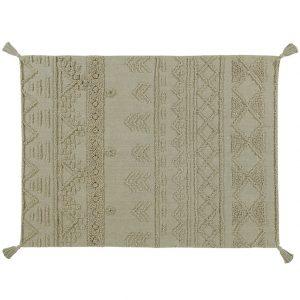 Lorena Canals Teppich TRIBU NATURAL (120×160) in grün Teppiche