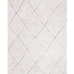 Lorena Canals Teppich RUGCYCLED® – BEREBER (140×200) in beige Teppiche