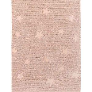 Lorena Canals Teppich HIPPY STARS (120×175) in altrosa Teppiche