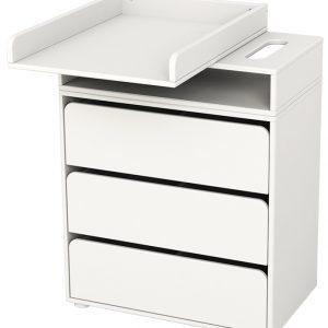 FLEXA Wickeltisch FLEXA BABY (72x44x96) mit Schubladen in weiß Wickeltische