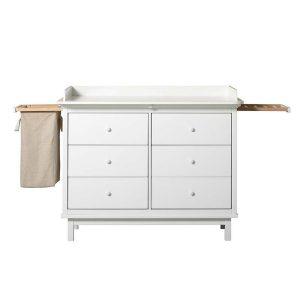 Oliver Furniture Wickelkommode Seaside mit 6 Schubladen und Auszügen Kommoden