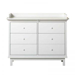 Oliver Furniture Wickelkommode Seaside mit 6 Schubladen Kommoden
