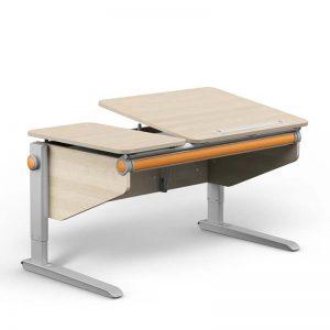 Moll Schreibtisch Winner Split Ahorn-Weiß Kinderschreibtische