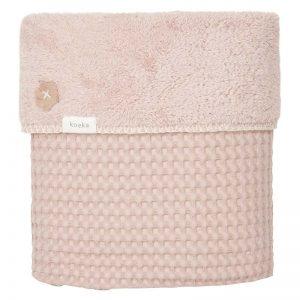 Koeka Kinderdecke Oslo Grey Pink 140 x 200 Decken